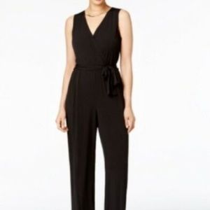 NY Collection Surplice Jumpsuit, Size XL